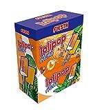 FIESTA Lolipop Aloha Caramelo Masticable con Palo Sabor Tropical - Caja de 100 unidades