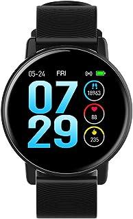 YZY Reloj Inteligente de la versión 2019,Pulsera Actividad con Monitor de sueño de Ritmo cardíaco, Pulsera Delgada con Reloj de podómetro para Hombres y Mujeres