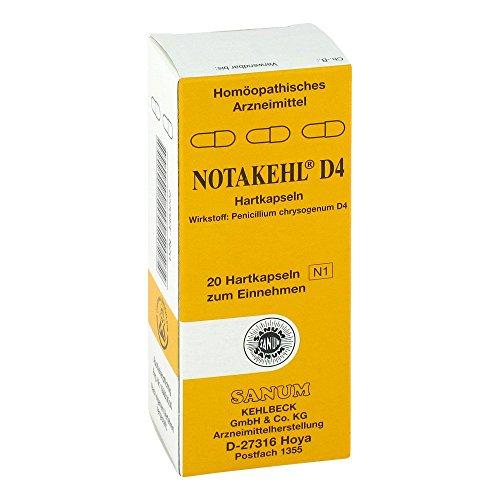 NOTAKEHL D 4 Kapseln 20 St