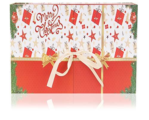 ISO TRADE Adventskalender-Geschenkset für Frauen mit 24 Überraschungen Beauty Adventskalender Ideen Kalender Geschenk 9231