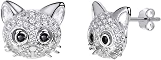 Best sterling silver cat earrings uk Reviews