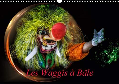 Les Waggis a Bale 2019: Quelques masques traditionnels du carnaval de Bale (Calvendo Art)