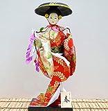 Siunwdiy Poupee Geisha Japonaise Authentique,Belle Traditionnelle Japonaise Kimono Geisha,Maiko Doll,Cadeaux,Décoration,Y42