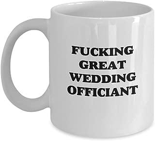 Funny Wedding Officiant Gag Gift Coffee Mug