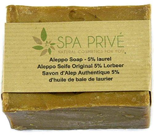 Sabone di Oliva con 5% di olio di bacche di alloro 190 g Natural Made in Francia