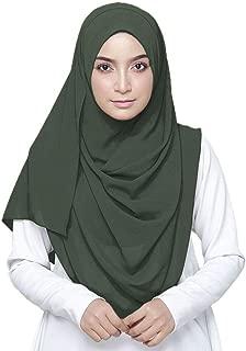 dark green hijab