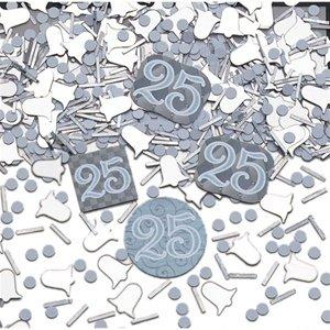Amscan Confetti Mix 25 Jaar Samen Feestaccessoire