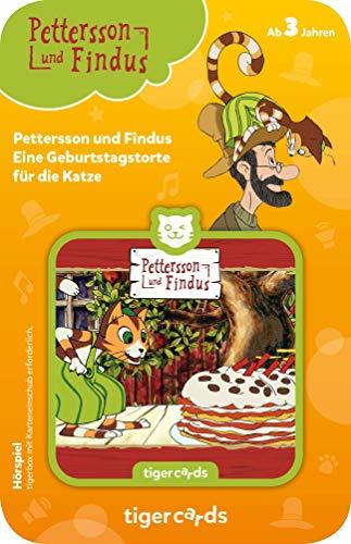 tigermedia 4142 tigercard-Pettersson und Findus-Folge 1: Eine Geburtstagstorte für die Katze