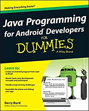 Java Programming for Android Developers For Dummies