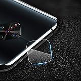 YIJINYA ESHOP Protectores de Pantalla de teléfono móvil 10 PCS for Vivo Y9s 2.5D cámara Trasera Transparente Protector de Lente de Cristal Templado de Cine Protector de Lentes de cámara
