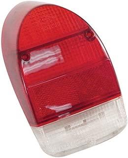 Empi 98-2026 Right Tail Light Lens 1971-72 Vw Bug/Super Beetle, Red Lens, Each