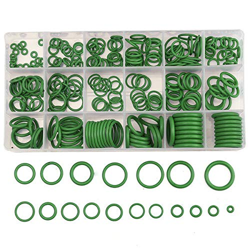 JYEMDV 270Pcs R22/R134a Air Conditioning O-Ring Rubber Rings Waterproof Washer (Color : Green)