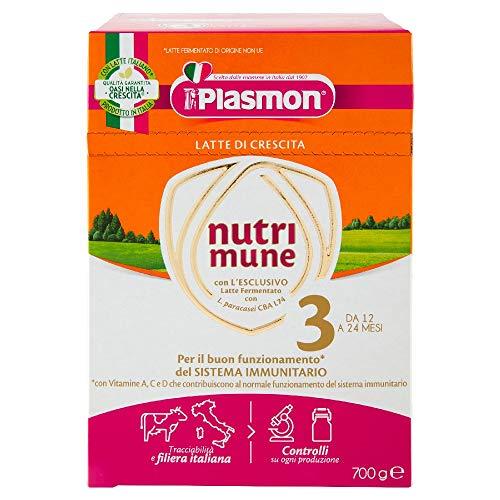 Plasmon Nutri-Mune Latte 3 Crescita Polvere 700g
