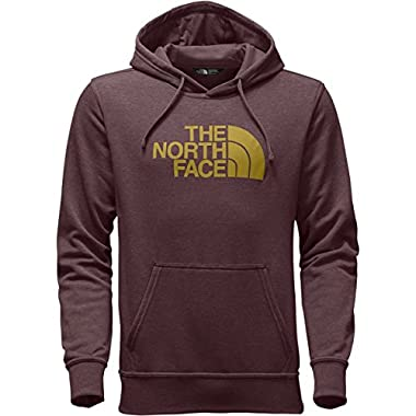 The North Face Men's Half Dome Hoodie - Sequoia Red Heather/Arrowwood Yellow - L (Past Season)