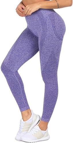 WZXY Rose sans Couture Yoga Leggings pour Femmes Gym Leggings Sport Fitness Pantalon Taille Haute Butt Sccourirch Leggings Flex Pantalon