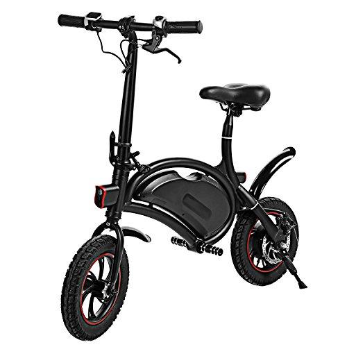 shaofu Folding Electric Bike– 350W 36V Electric Bicycle Waterproof E-Bike with 15 Mile Range,...