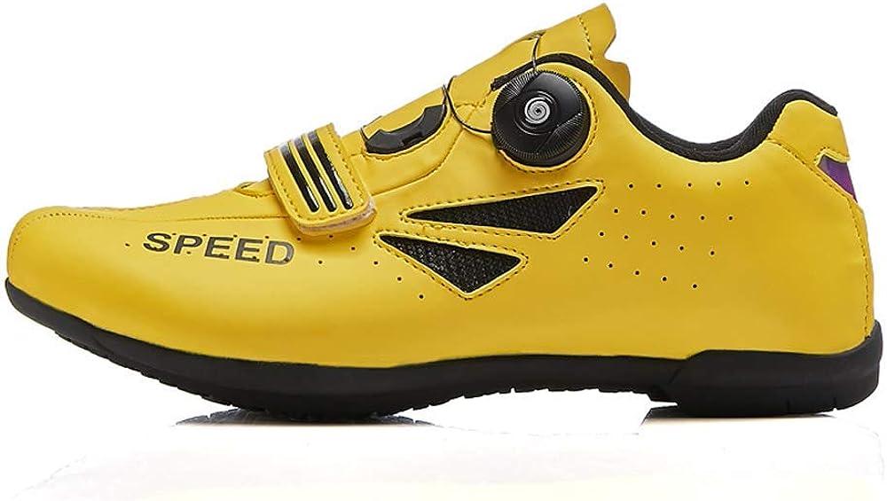 TPbike Chaussures de Cyclisme d/écontract/ées Chaussures de Reliure de v/élo Chaussures Chaussures de v/élo Ventilation Chaussures de v/élo de Montagne antid/érapantes Cordes de Chaussures Rapides Hommes