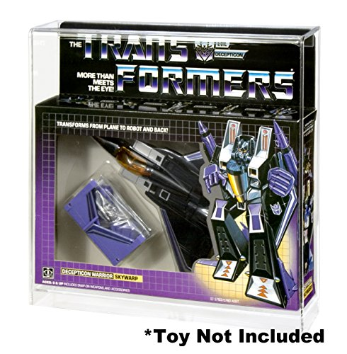 Action Figure Authority Transformers Jets Acrylic Display Case
