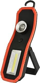 Olymbros COB LED L/ámpara de Inspecci/ón Luz de Trabajo Magn/ética Linterna Antorcha con Magn/ético Base y Gancho