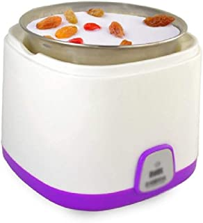 WGNHM Automatic Yogurt Machine-Automatic Yogurt Maker Machine Jars Customize to Your Flavor and Thickness (Color : Purple)