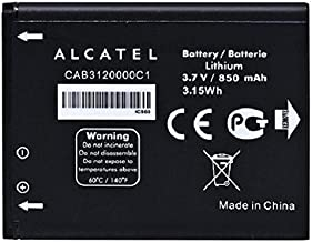 New OEM Alcatel CAB3120000C1 510A OT-800 OT-880a OT-710D Original Battery (Bulk Packaging)