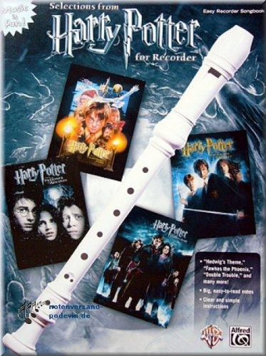 Selections from Harry Potter for Recorder - Blockflöte Noten [Musiknoten]