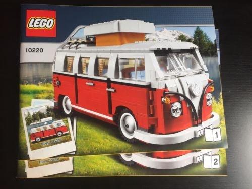 LEGO 10220 Volkswagen T1 Campingbus (VW Bus) NUR Bauanleitung Instruction only