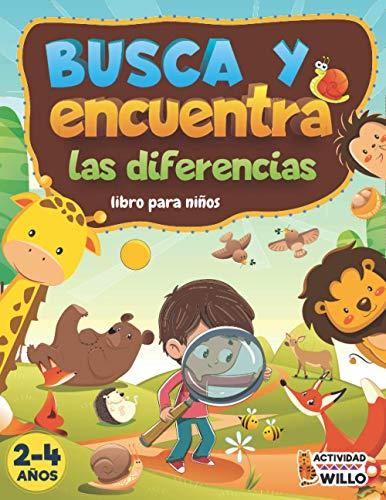 Busca y Encuentra libros niños 2-4 años: Busca y Encuentra las...