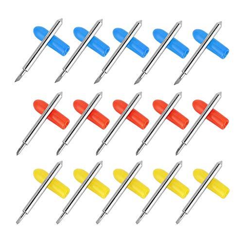 Taglierina per plotter in acciaio al tungsteno Taglierina per plotter Adamant Economica per il taglio di vinile standard per il taglio di supporti adesivi colorati