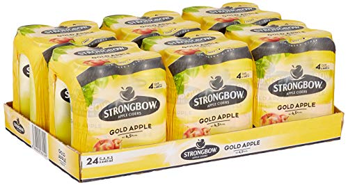 Strongbow Cider Gold Apple Cider, 24x440ml