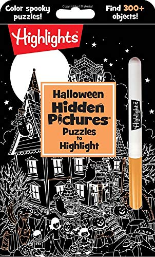 Halloween Hidden Pictures Puzzles to Highlight (paperback) $0.98 + Free Shipping w/ Prime or on $25+