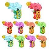 Womdee Mini Pistolet à Eau, Jeu De Pistolet à Eau,10Pcs Pistolet à Eau Pistolets...