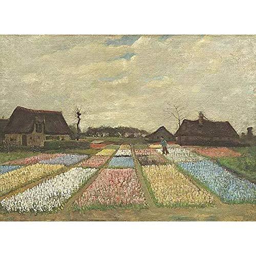 QINGQING Van Gogh 1883 Niederländische Blumen Betten Malerei Puzzle Dekompression Spielzeug (Size : 300)