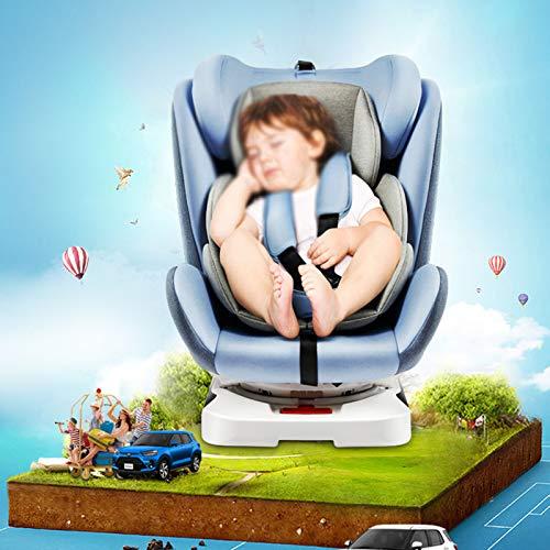 QYT-Silla de Coche, Desde Recién Nacido hasta los 36 kg, Instalación con el Cinturón del Automóvil, Máxima Reclinación
