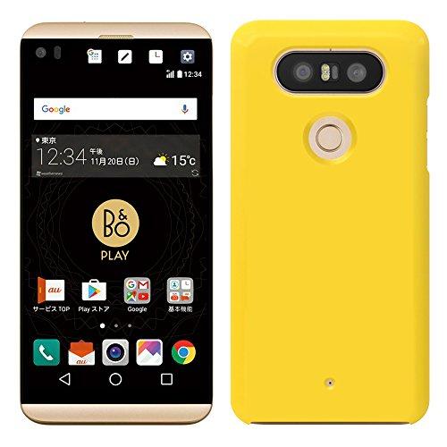 「Breeze-正規品」iPhone ・ スマホケース ポリカーボネイト [Yellow] イサイ ビート LGV34 カバースマホケース スマホカバー ハードケース docomo LG V20 PRO L-01J /LG isai beat LGV34ケース L01Jケース LG isai beat LGV34ケース [LGV34]
