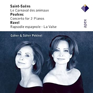 Saint-Saëns, Poulenc, Infante & Ravel : Piano Works  -  Apex