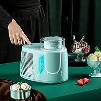 Water cup アイスクリームマシンアイスクリームメーカーマシン、ジェラートシャーベット冷凍ポータブルマシン、取り外し可能なミキシングパドル、簡単な家庭での使用
