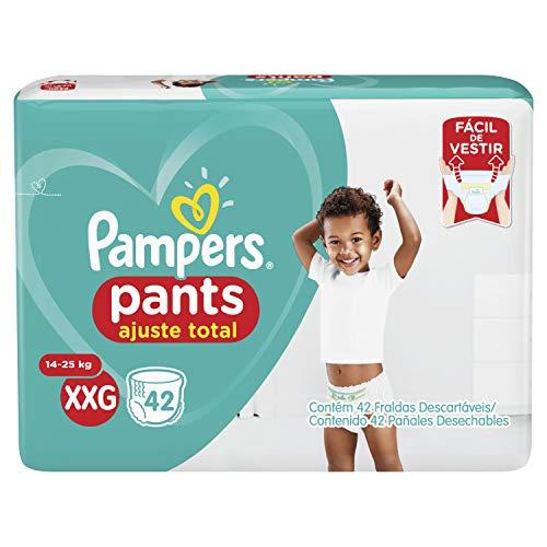 Fralda Pampers Pants Ajuste Total XXg 42 Unidades, Pampers