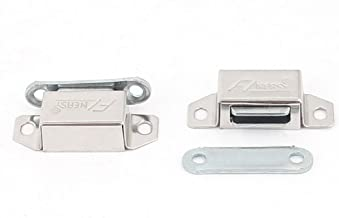 Sourcingmap a15121700ux0220 magneethaken, zilverkleurig, set van 2 stuks