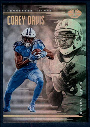 2018 Panini Illusions Football #43 Corey Davis/Randy Moss Tennessee Titans Official NFL Trading Card