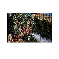 巨大な人形のポスター環境アート キャンバスポスター寝室の装飾スポーツ風景オフィスルームの装飾ギフト,キャンバスポスター壁アートの装飾リビングルームの寝室の装飾のための絵画の印刷 20x30inch(50x75cm)