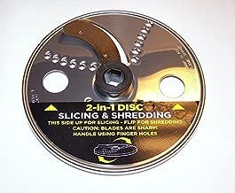 Ninja Reversible Slicer/Shredder Disc Blade for Food Processor BL773CO BL681A