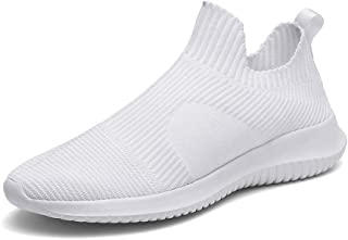 ZUAN Acrobatic Shoes for Men Knit Sports Shoes Slip On Style Mesh Cloth Corporeal Breathable Round Toe