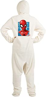Spider Man Face Footed PJs