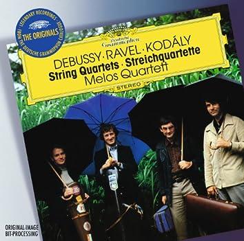 Debussy / Ravel / Kodály: String Quartets