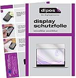 dipos I 2X Schutzfolie klar kompatibel mit Huawei MateBook D14 Folie Bildschirmschutzfolie