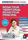 Réussite Concours - Rédacteur territorial/Rédacteur principal - 2021-2022 - Préparation complète