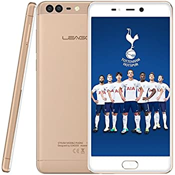 LEAGOO T5C - 5,5 Pulgadas FHD (1920 * 1080) Smartphone 4G, 7,99 mm de Metal ultradelgado Unibody, 1,8 GHz Octa Core 3 GB + 32 GB, cámara Triple (5MP + 2MP + 13MP): Amazon.es: Electrónica