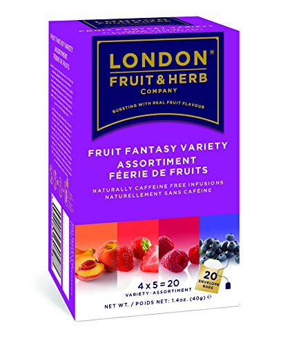 London Fruit & Herb Té Mix de Frutas Fantasy, 40g, caja de 20 sobres