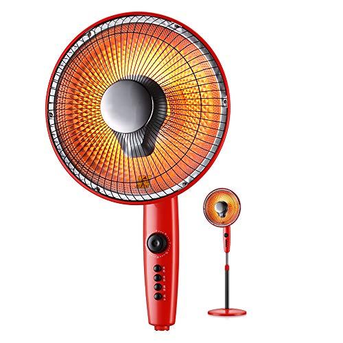 Calentador de Patio eléctrico con función de sincronización, Calentador de Ventilador de...